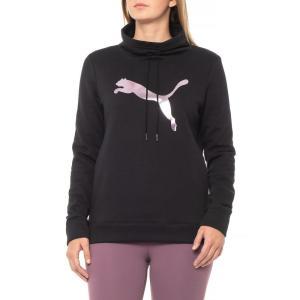 プーマ Puma レディース スウェット・トレーナー トップス Cinch-Up Fleece Sweatshirt Puma Black|fermart
