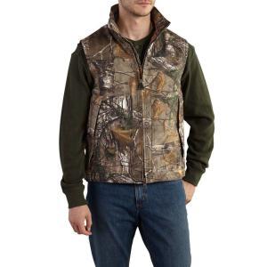 カーハート Carhartt メンズ ベスト・ジレ トップス Quick Duck Camo Vest - Insulated Realtree Xtra|fermart