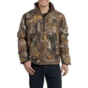 カーハート Carhartt メンズ ジャケット アウター Quick Duck Rain Defender Camo Traditional Jacket - Insulated Realtree Xtra|fermart