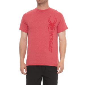 スパイダー Spyder メンズ トップス ランニング・ウォーキング Subtle Graphic T-Shirt - Short Sleeve Red|fermart