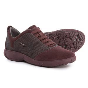 ジェオックス Geox レディース スニーカー シューズ・靴 Nebula Sneakers Dark Burgundy fermart