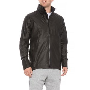 アンダーアーマー Under Armour メンズ ジャケット アウター Storm Accelerate Gore-Tex Jacket - Waterproof Black|fermart