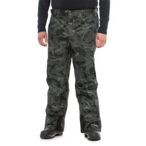 コロンビア Columbia Sportswear メンズ ボトムス・パンツ スキー・スノーボード Ridge to Run II Omni-Heat Ski Pants - Waterproof Black Camo|fermart