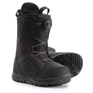 バートン Burton メンズ シューズ・靴 スキー・スノーボード Moto BOA Snowboard Boots Black|fermart