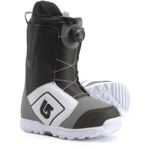 バートン Burton メンズ シューズ・靴 スキー・スノーボード Moto BOA Snowboard Boots White/Black/Gray|fermart