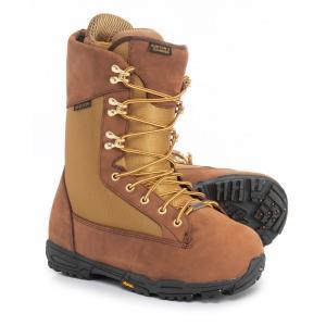 バートン Burton メンズ シューズ・靴 スキー・スノーボード X Danner Snowboard Boots Brown/Khaki|fermart