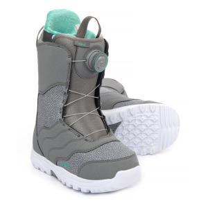 バートン Burton レディース シューズ・靴 スキー・スノーボード Mint BOA Snowboard Boots Gray|fermart