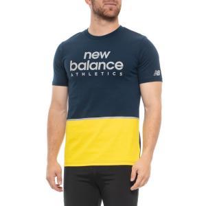 ニューバランス New Balance メンズ Tシャツ トップス Athletic Liner T-Shirt - Short Sleeve Pigment|fermart
