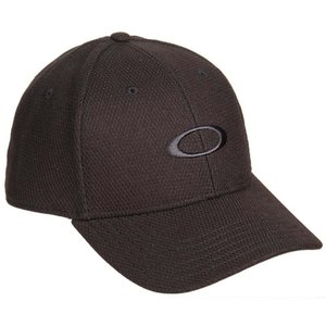 オークリー Oakley メンズ キャップ 帽子 Golf Ellipse Baseball Cap Black|fermart