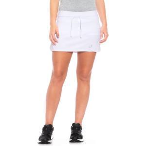 アシックス ASICS レディース ボトムス・パンツ テニス Spin Slice Tennis Skort - UPF 50+ White/White|fermart