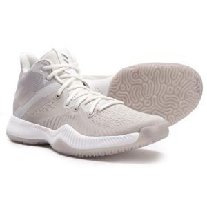 アディダス adidas メンズ シューズ・靴 バスケットボール Mad BOUNCE Basketball Shoes Cool Grey/Chalk Pearl/Crystal White fermart