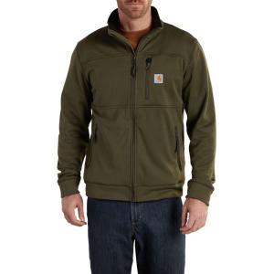 カーハート Carhartt メンズ フリース トップス Workman Polartec Fleece Jacket Moss|fermart