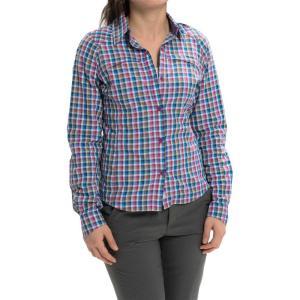 コロンビア Columbia Sportswear レディース ハイキング ウェア 長袖シャツ Silver Ridge Ripstop Shirt - UPF 30, Long Sleeve  Berry Jam|fermart