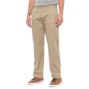 リーバイス Levi's メンズ チノパン ボトムス・パンツ Straight True Chino Twill Pants Khaki|fermart