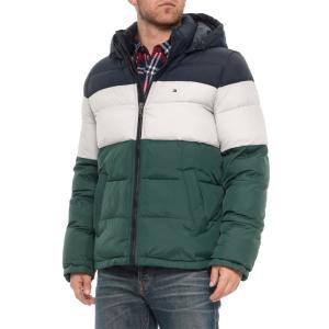 トミー ヒルフィガー Tommy Hilfiger メンズ ダウン・中綿ジャケット アウター Classic Mid-Length Puffer Jacket - Insulated Green Color fermart