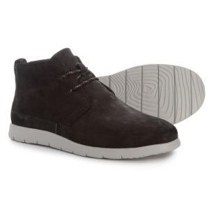 アグ UGG Australia メンズ ブーツ シューズ・靴 Freamon Capra Chukka Boots - Goat Leather Black|fermart
