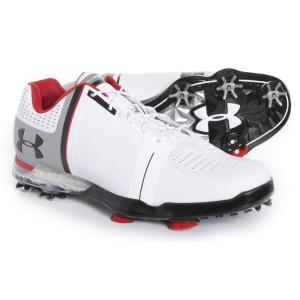 アンダーアーマー Under Armour メンズ シューズ・靴 ゴルフ Spieth One Golf Shoes White/Black fermart