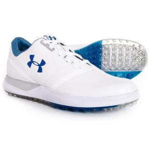アンダーアーマー Under Armour レディース シューズ・靴 ゴルフ Performance Spikeless Golf Shoes White/Moroccan Blue fermart