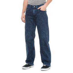 リーバイス Levi's メンズ ジーンズ・デニム ボトムス・パンツ 569 Loose Fit Straight-Leg Jeans Dark Blue|fermart
