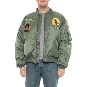 ショット ニューヨーク Schott NYC メンズ ブルゾン アウター 13th Bombardment Group MA-1 Jacket - Insulated Sage|fermart
