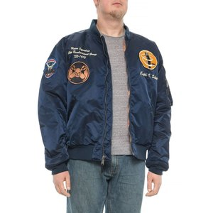 ショット ニューヨーク Schott NYC メンズ ブルゾン アウター 13th Bombardment Group MA-1 Flight Jacket Navy|fermart