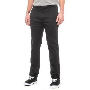 リーバイス Levi's メンズ チノパン ボトムス・パンツ 511 Black Cruz Slim Twill Chino Pants Black Cruz|fermart
