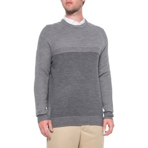 アンダーアーマー Under Armour メンズ ニット・セーター トップス Threadborne Paneled Sweater - Wool Carbon Heather|fermart