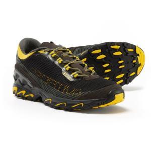 ラスポルティバ La Sportiva メンズ シューズ・靴 ランニング・ウォーキング Wildcat 3.0 Trail Running Shoes Black/Yellow|fermart