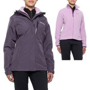 マーモット Marmot レディース ジャケット アウター nightshade sulphide component polartec micro jacket - waterproof, 3-in-1 Nightshade|fermart