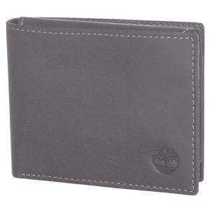 ティンバーランド Timberland メンズ 財布 Cloudy Leather Passcase Wallet Charcoal fermart