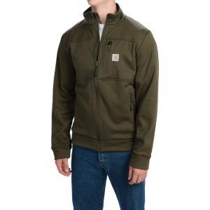 カーハート メンズ フリース トップス Workman Polartec Fleece Jacket Moss|fermart