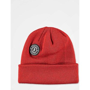 エレクトリック ELECTRIC メンズ ニット ビーニー 帽子 Electric Watchman Rawhide Red Beanie Dark red|fermart