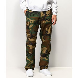 ロスコ ROTHCO メンズ カーゴパンツ ボトムス・パンツ Rothco BDU Tactical Woodland Cargo Pants Medium green|fermart