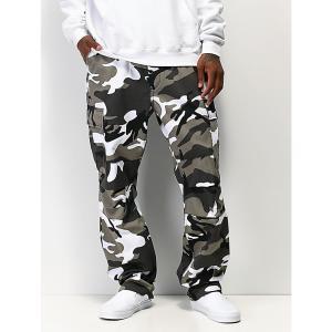 ロスコ ROTHCO メンズ カーゴパンツ ボトムス・パンツ Rothco BDU Tactical City Camo Cargo Pants Grey|fermart