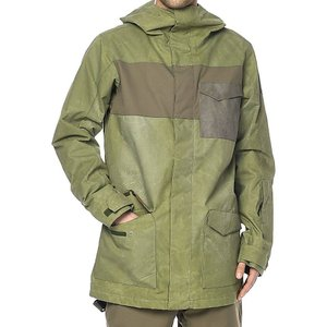 ダカイン メンズ アウター スキー・スノーボード Dakine Elsman Surplus Green 10K Snowboard Jacket Green|fermart