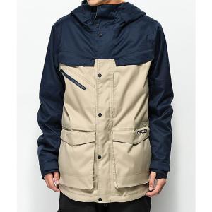 オークリー メンズ アウター スキー・スノーボード Oakley Timber Rye BioZone 15K Snowboard Jacket Beige/khaki|fermart