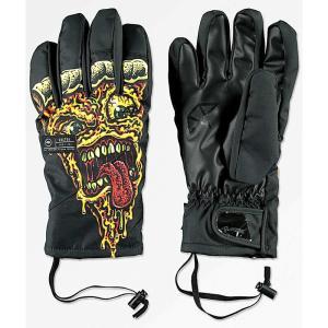 セルテック メンズ グローブ スキー・スノーボード Celtek El Nino Under Glove Pizza Gore-Tex Snowboard Gloves Black|fermart