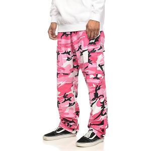 ロスコ ROTHCO メンズ カーゴパンツ ボトムス・パンツ Rothco BDU Pink Camo Cargo Pants Bright pink|fermart