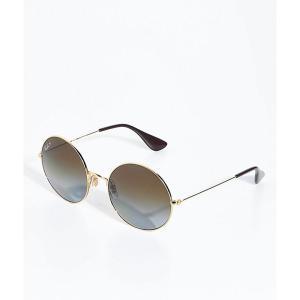 レイバン レディース メガネ・サングラス Ray-Ban Jajo Gold Sunglasses Gold|fermart