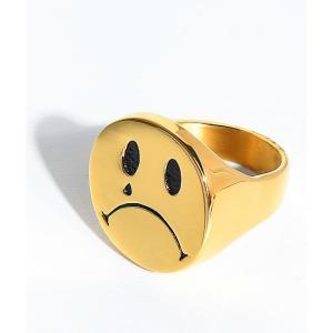 ハンチョロ メンズ 指輪・リング ジュエリー・アクセサリー Han Cholo Cry Later Gold Ring Gold fermart