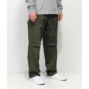 ロスコ ROTHCO メンズ カーゴパンツ ボトムス・パンツ Rothco Tactical BDU Solid Olive Cargo Pants Dark green|fermart