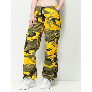 ロスコ ROTHCO レディース ボトムス・パンツ Rothco Yellow Camo BDU Pants Bright yellow|fermart