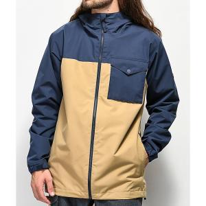 バートン BURTON メンズ アウター スキー・スノーボード Portal Indigo Snowboard Jacket Navy|fermart