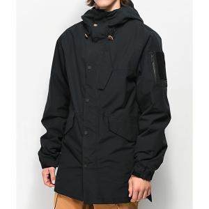 サーティーツー THIRTYTWO メンズ アウター スキー・スノーボード ThirtyTwo Lodger Black 10K Snowboard Jacket Black|fermart