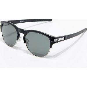オークリー メンズ メガネ・サングラス Oakley Latch Key L Black Prizm & Grey Sunglasses Black|fermart
