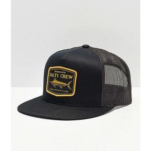 ソルティークルー SALTY CREW メンズ キャップ 帽子 Stealth Black Trucker Hat Black fermart