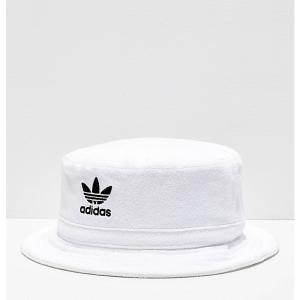 アディダス ADIDAS メンズ ハット バケットハット 帽子 adidas Originals White Bucket Hat White|fermart