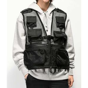 ロスコ ROTHCO メンズ ベスト・ジレ トップス Rothco Recon Black Vest Black|fermart