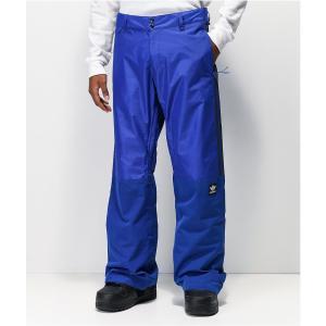 アディダス ADIDAS メンズ スキー・スノーボード ボトムス・パンツ adidas Riding Pant Blue 10K Snowboard Pants Blue|fermart