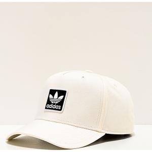 アディダス ADIDAS メンズ キャップ スナップバック 帽子 adidas Originals Dart Trefoil White Snapback Hat White fermart